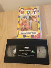 Enid Blyton The Great Noddy Video VHS Classic Kids Tv