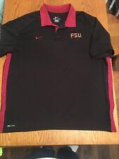 Florida State University Nike dry fit men's size 2Xl polo