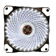 LED Ultra Silent Computer CPU Fans PC Heatsink Case Fan 15 Lights 12V 120mm