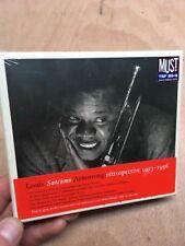 Louis Satchmo Armstrong:Retrospective 1923-1956 3xCD New+Sealed Rare Boxset