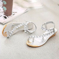 Women Sandals Beach Flip Flops Thongs Toe Strap Flat Summer Casual Shoes Slipper