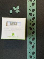 OMFL like Creative Memories HOLLY Border Maker Cartridge NEW Punch
