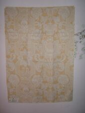 "Lee Jofa ""Croome Damask"" floral fabric remnant color yellow"
