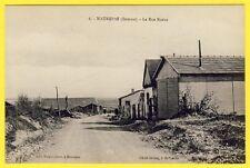 cpa Rare 80 - Village de MAUREPAS (Somme) La Rue NEUVE Cliché LELONG, St FUSCIEN