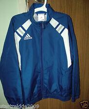 Adidas Boys, Full Zip Windbreaker Jacket, Royal Blue Color, Size Small(Us)Nwt