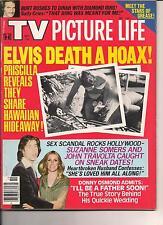 ELVIS PRESLEY DEATH HOAX TV PICTURE LIFE 1978 JOHN TRAVOLTA SUZANE SOMERS GREASE