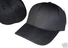 Black Ultra Fit Flex Fitting Flexible Headband Baseball Cap Caps Hat Hats Sm/Med