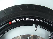 Suzuki Streetfighter Wheel rim stickers decals gsxr sv