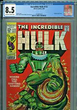 Incredible Hulk #113 (Marvel 1969) CGC Certified 8.5
