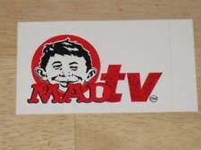 MAD Magazine / MAD TV Promotional Sticker      Unused     MINT    1995     RARE