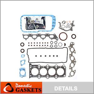 Fits 96-03 Suzuki Vitara Chevrolet Tracker 1.8L 2.0L DOHC Full Gasket Set J20A