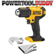 Dewalt DCE530N XR 18volt Li-ion Cordless Heat Gun Bare Unit + 2 Nozzles BAY5
