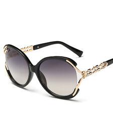 Mode Damen Retro Designer Strass Sonnenbrille Schirm Brillen Brillen
