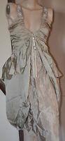 jolie robe longue à bretelles en soie HIGH USE taille 38 ** NEUVE ÉTIQUETTE **