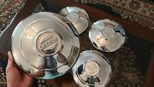 Datsun 510 Rare Hubcaps Wheels Cover Center Hub Caps 13 Stainless steel Bluebird
