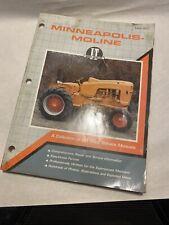 Minneapolis Moline Iampt Shop Service Manual Mm 201 1990 Farm Tractor
