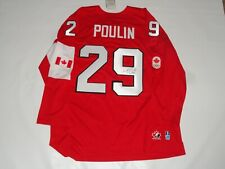 MARIE PHILIP-POULIN SIGNED TEAM CANADA 2014 OLYMPIC HOCKEY JERSEY SOCHI PROOF