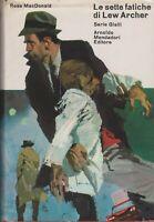 Libro - Ross MacDonald - Le sette fatiche di Lew Archer - cop. rigida | buono