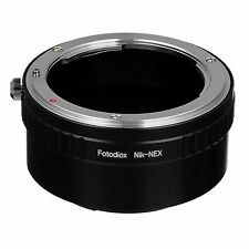 Fotodiox Adaptateur Objectif Nikon Nikkor F-Lentille Pour Sony Alpha E-Mount NEX