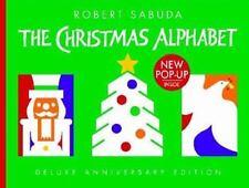 The Christmas Alphabet by Robert Sabuda (2004, Hardcover, Anniversary, Deluxe)