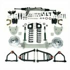 1964-1970 Ford Mustang II 2 Complete IFS Front End Suspension Kit Hub to Hub
