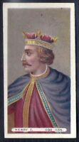 WILLS-KINGS & QUEENS (LONG CARD WILLS AT BASE)-#13- HENRY I 1100-1135