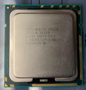 Processeur Intel Xeon E5620 2,40ghz / socket 1366 / 12Mo de cache (ref SLBV4)