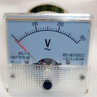 AC 0-300V Analog Panel Voltmeter Volt Voltage Meter Gauge 85L1 Class 2.5 LG