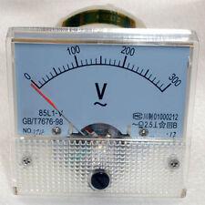 AC 300V Analog Panel Voltmeter Volt Voltage Meter Gauge 85L1 Class 2.5 AC 0-300V