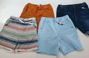 Size 7, 8 Boys Shorts summer bundle - Seed Heritage, Minti brand
