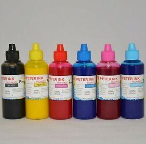 6X100ML Pigment refill Ink alternative for Artisan XP Printer A