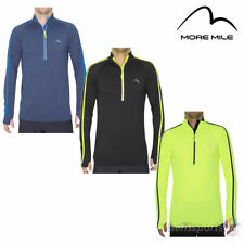 More Mile Long Sleeve Fitness Tops & Jerseys for Men