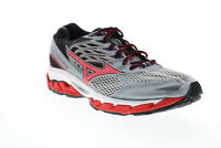Mizuno Wave Paradox 3 PYVR666B Mens Gray Mesh Lace Up Athletic Running Shoes 9