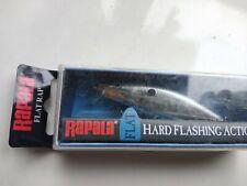 Rapala Flat Rap FLR08 SB Silver Blue crankbait lure 8cm