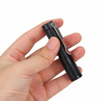Portable 300LM R5 LED Hunting Pocket  MINI Flashlight Torch Clip AAA/10440 New