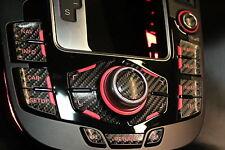 MMI Aufkleber Carbon-Optik Doppelpfeil Audi RS4/A4 8K A5/S5 8T Q5 mmi 2G und 3G