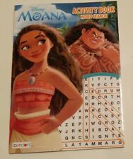 New Disney Moana ColorActivity Book-Word Search