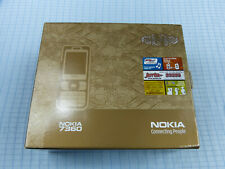 Original Nokia 7360 Black Chrome! sin bloqueo SIM! nuevo con embalaje original! igual IMEI rar!!