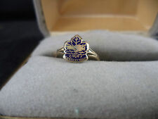 Medical 10k Gold Ring CSRT Canadian Society of Radiological Technicians 1943 WW2