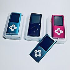 MP3 Player Ultra Slim Music MP4 Player FM Radio Voice Record Video Play 64GB