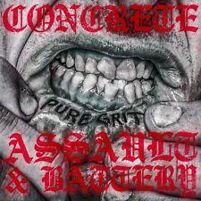 """CONCRETE / ASSAULT & BATTERY True Grit split 7"""" Oi! Punk new"""