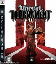 Used PS3 Unreal Tournament III SONY PLAYSTATION 3 JAPAN JAPANESE IMPORT