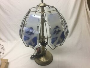 Dolphin touch lamp 24 inch
