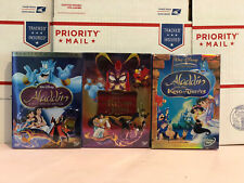 Aladdin 1, 2 and 3 (Special Edition English/French/Spanish) Brand New
