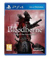 BLOODBORNE Edicion Juego del Año PS4 ESPAÑOL NUEVO CASTELLANO GOTY PRECINTADO