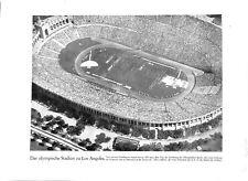 Stade de 100000 spectateurs Jeux olympiques été Los-Angeles 1932 ILLUSTRATION