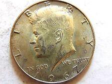 "1967 ""Kennedy"" Silver Half Dollar Coin"
