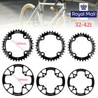 SNAIL 32-42t BCD104mm Narrow Wide Single Speed MTB Bike Crankset Chainring ring