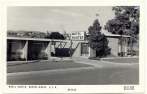 Motel Hunter Muswellbrook RP Postcard 1950s