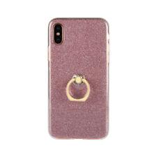 Soft Silicone Bling Glitter Finger Ring Slim Case Cover For Various Phone Model